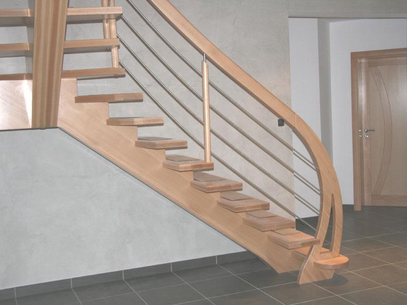 Escalier un quart tournant - Escalier beton double quart tournant en kit ...
