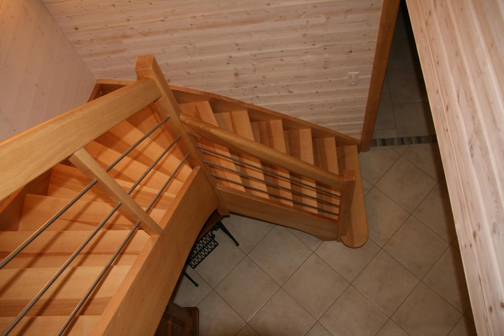 Menuiserie didierjean fabricant escaliers et portes fraize vosges - Main courante bois lapeyre ...